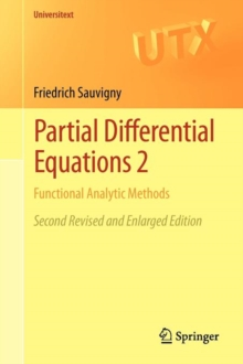 Partial Differential Equations 2 : Functional Analytic Methods, Paperback Book