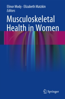 Musculoskeletal Health in Women, Hardback Book