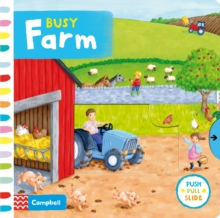 Busy Farm, Board book Book
