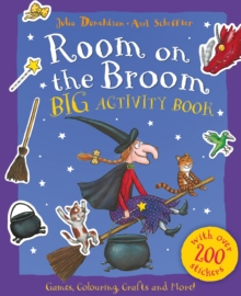 Room on the Broom Big Activity Book, Paperback Book