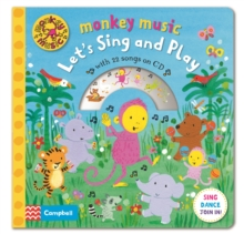 Monkey Music Let's Sing and Play, Hardback Book