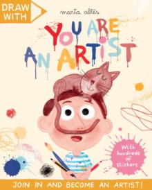 Draw With Marta Altes: You Are an Artist!, Paperback Book