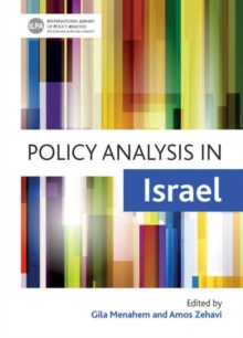 Policy analysis in Israel, Hardback Book