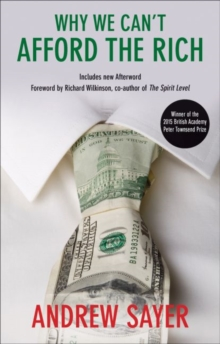 Why We Can't Afford the Rich, Paperback Book