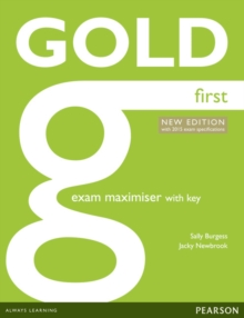 Gold First New Edition Maximiser with Key, Paperback Book