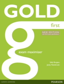 Gold First New Edition Maximiser without Key, Paperback / softback Book