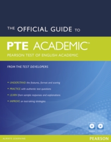 The Official Guide to the Pearson Test of English Academic New Edition Pack, Mixed media product Book