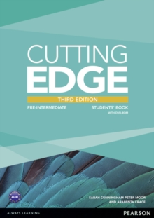 Cutting Edge 3rd Edition Pre-Intermediate Students' Book and DVD Pack, Mixed media product Book
