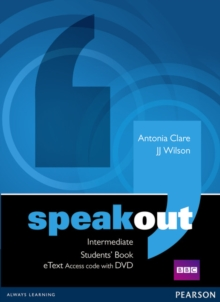 Speakout Intermediate Students' Book eText Access Card with DVD, Mixed media product Book