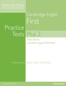 Cambridge First Volume 2 Practice Tests Plus New Edition Students' Book without Key, Mixed media product Book