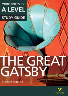 The Great Gatsby: York Notes for A-level, Paperback / softback Book