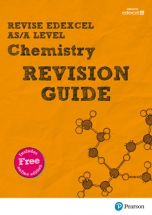 REVISE Edexcel AS/A Level Chemistry Revision Guide (with online edition) : for the 2015 qualifications, Mixed media product Book