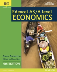 Edexcel AS/A Level Economics Student book + Active Book, Mixed media product Book
