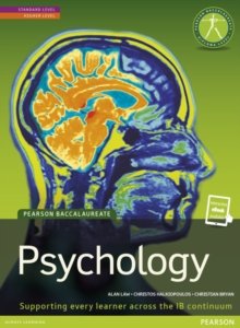 Pearson Baccalaureate: Psychology new bundle (not pack), Mixed media product Book
