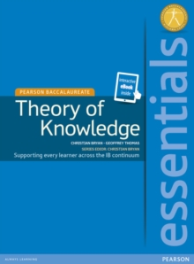 Pearson Baccalaureate Essentials: Theory of Knowledge ebook only edition (etext), Mixed media product Book