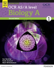 OCR AS/A level Biology A Student Book 1 + ActiveBook, Mixed media product Book