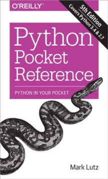 Python Pocket Reference, Paperback Book