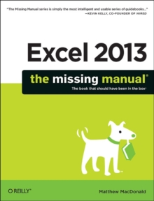 Excel 2013: The Missing Manual, Paperback Book
