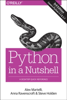 Python in a Nutshell : A Desktop Quick Reference, Paperback Book