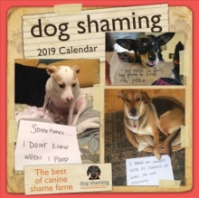 Dog Shaming 2019 Square Wall Calendar, Calendar Book