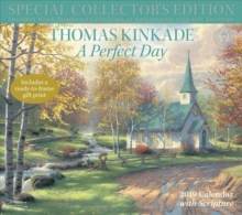 Thomas Kinkade Special Collector's Edition with Scripture 2019 Deluxe Wall Calendar, Calendar Book
