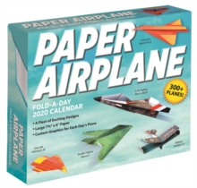Paper Airplane Fold-a-Day 2020 Activity Calendar, Calendar Book