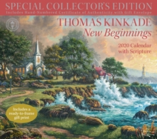 Thomas Kinkade Special Collector's Edition with Scripture 2020 Deluxe Wall Calendar, Calendar Book