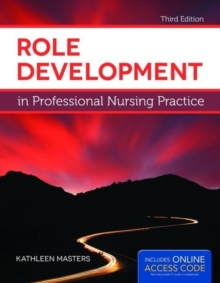 Role Development In Professional Nursing Practice, Paperback / softback Book