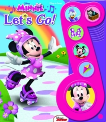 "Minnie ""Let's Go!"" Little Music Note Book, Board book Book"