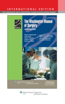 The Washington Manual of Surgery, Paperback Book