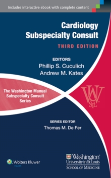 The Washington Manual of Cardiology Subspecialty Consult, Paperback Book
