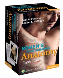 Rohen's Photographic Anatomy Flash Cards, Cards Book