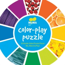 Moma Color Wheel Puzzle, Jigsaw Book