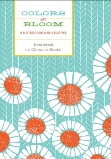 Colors in Bloom Notecards, Cards Book