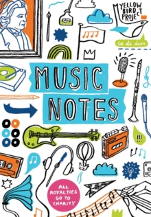 Music Notes: a Journal, Notebook / blank book Book