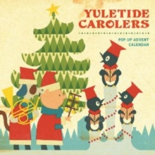 Yuletide Carolers Pop-Up Advent Calendar, Calendar Book