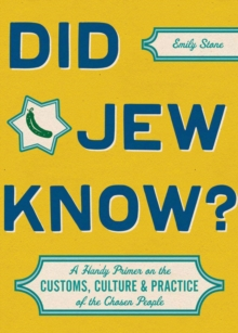 Did Jew Know?, Hardback Book