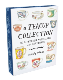 Teacup Collection Notes : 20 Different Notecards and Envelopes, Notebook / blank book Book