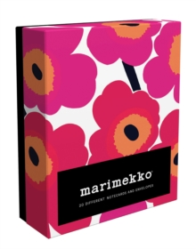 Marimekko Unikko Notes : 20 Different Notecards and Envelopes, Notebook / blank book Book
