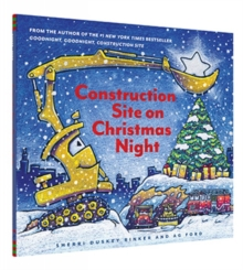 Construction Site on Christmas Night, Hardback Book