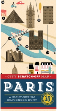 City Scratch-off Map: Paris : A Sight-Seeing Scavenger Hunt, Other printed item Book