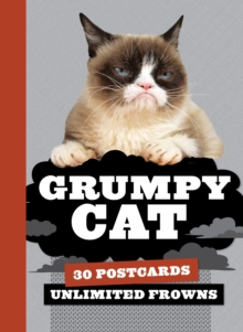 Grumpy Cat Postcard Book : 30 Postcards, Unlimited Frowns, Postcard book or pack Book