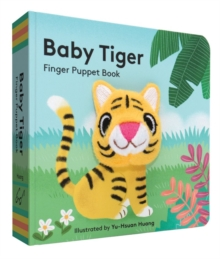 Baby Tiger: Finger Puppet Book, Board book Book