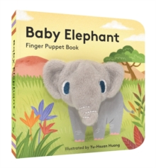 Baby Elephant: Finger Puppet Book, Board book Book