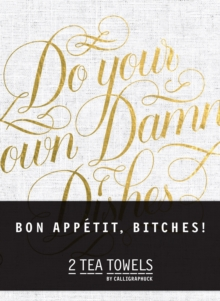 Bon, Appetit Bitches! Tea Towels, Toy Book