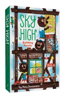 Sky High Building Puzzle, Kit Book