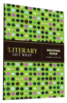 Literary Life Wrapping Paper, Other printed item Book