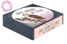 Have a Little Pun: Owl Drink to That (15 Coasters), Other merchandise Book