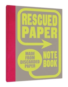 Rescued Paper Notebook, Notebook / blank book Book