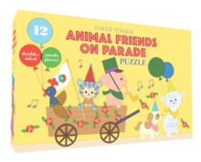 Animal Friends on Parade Puzzle, Game Book